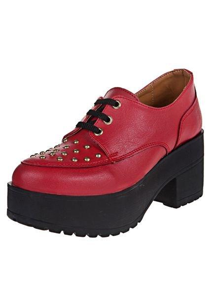 Zapato Rojo Pink Anastacia