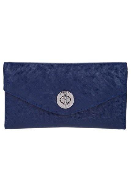 Billetera Azul Prune Zafiano