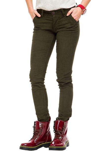 Pantalon Verde Prussia Estefahan