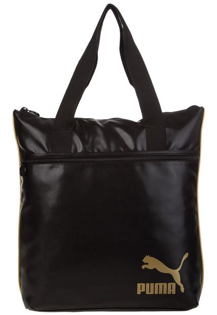 Bolso Negro Puma Spirit Shopper