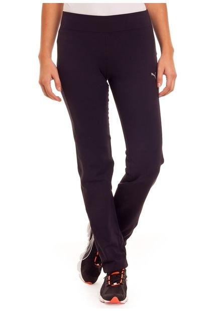 Pantalon Negro Ess Gym Puma