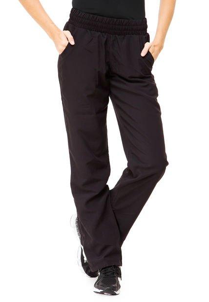 Pantalon Negro Puma ESS Woven