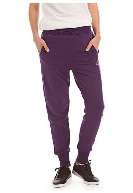 Pantalon Violeta Puma Core Drapy