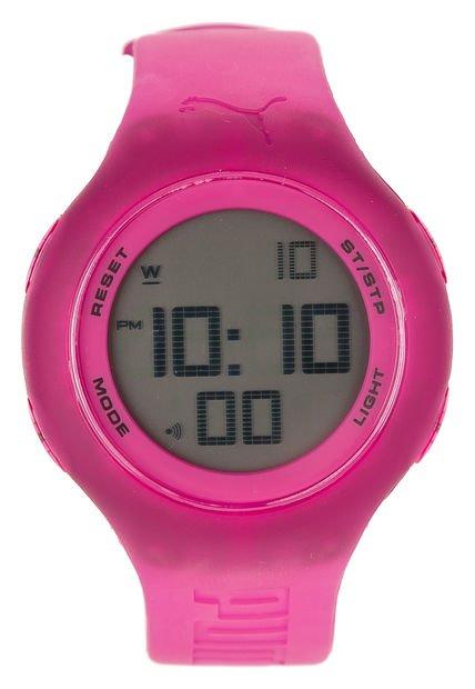 Reloj Fucsia Puma Loop Transparent Pink