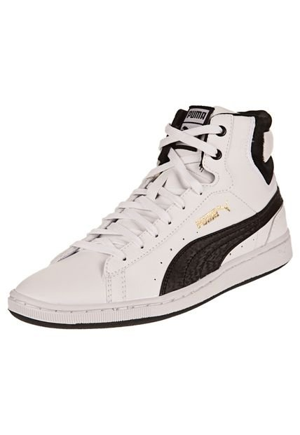 Zapatilla Blanca Puma First Round Super L NM Wn's