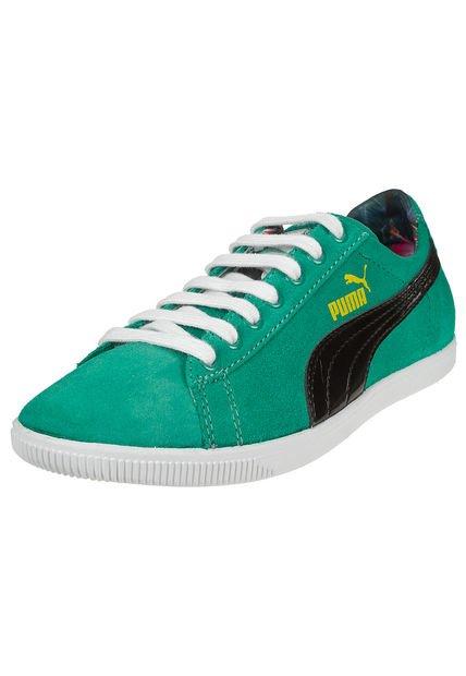 Zapatilla Verde Puma Glyde Lo Tropicialia Wn's