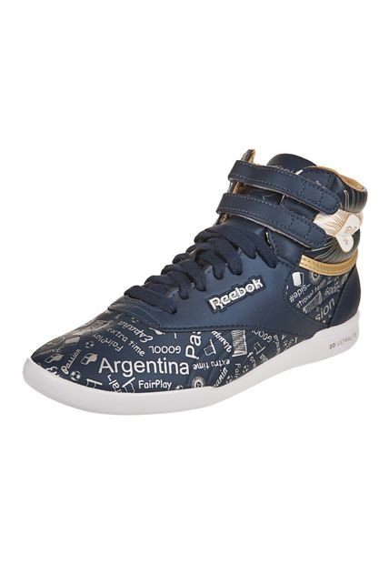 Zapatilla Azul Freestyle Passion Reebok