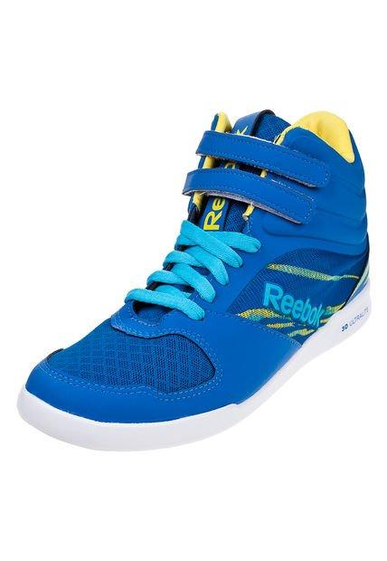 Zapatilla Azul Reebok R. Dance Mid
