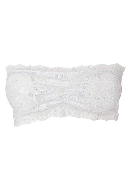Bandeau Blanco Rococo Encaje