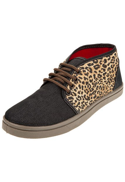 Zapatilla Animal Print Roi Sato