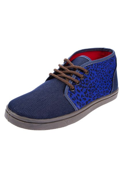 Zapatilla Azul Roi Sato