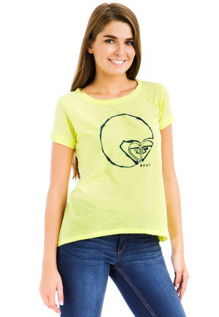 Remera Verde Roxy Sun Time