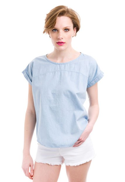 Camisa Celeste Sail Ivon