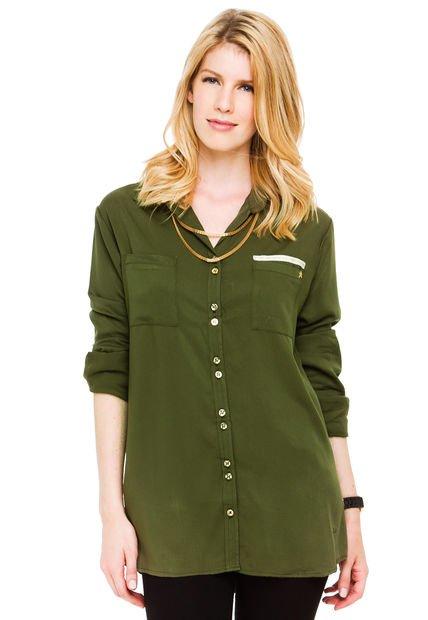 Camisa Verde Sail Jackie