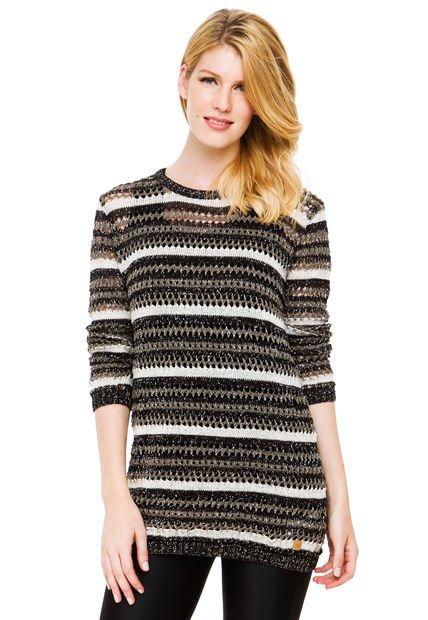 Sweater Negro Sail Melody