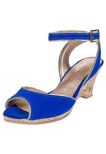 Sandalia Azul Salvame Maria