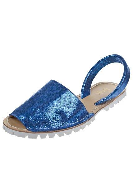 Sandalia Azul Sofi Martire Carlota