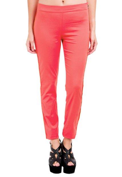 Pantalon Coral Square Poussin