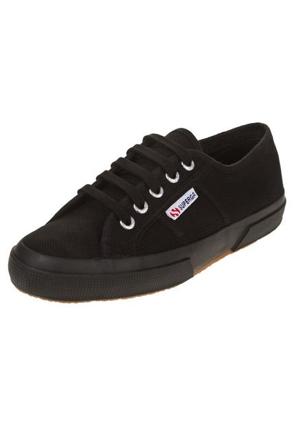 Zapatilla Negra Superga Cotu Classic Strategic