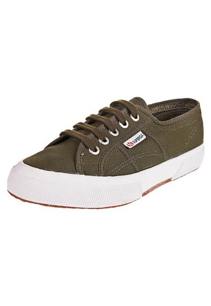 Zapatilla Verde Superga Cotu Classic Strategic