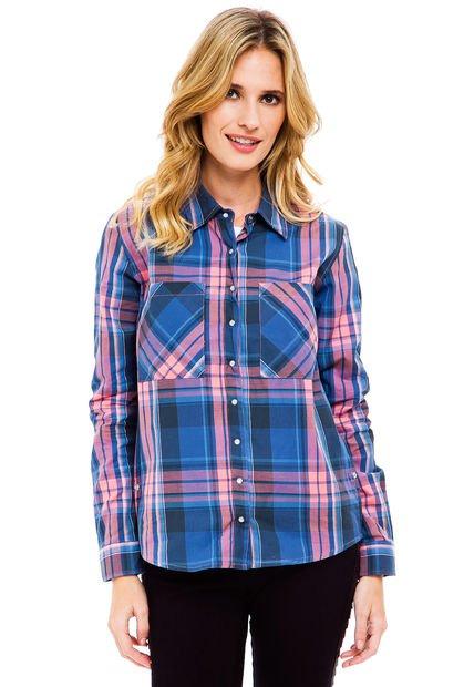 Camisa Celeste Taverniti