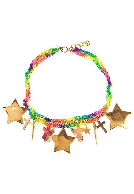 Collar Multicolor Tienda Checa  Arcoiris