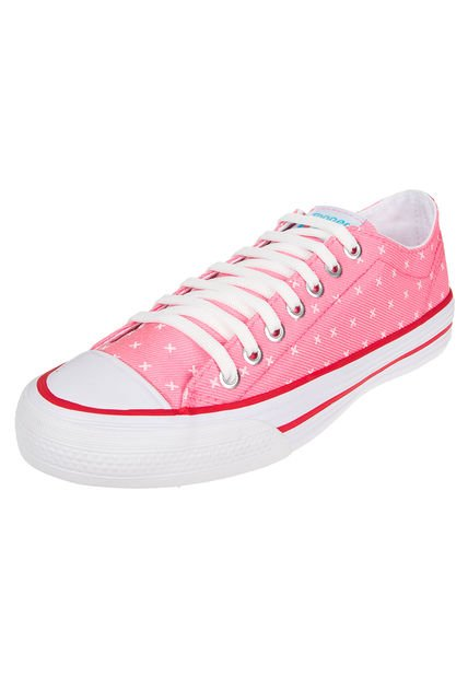 Zapatila Rosa Fluo Topper Rail Cross