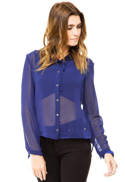 Camisa Azul Try Me Siena