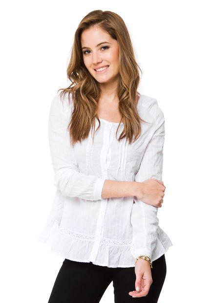 Camisa Blanca Try Me Chipre