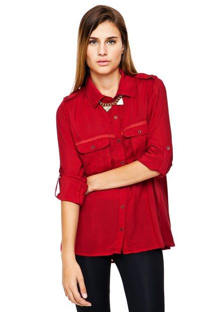 Camisa Roja Try Me Turquia