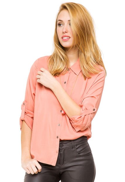 Camisa Salmon Try Me Classic