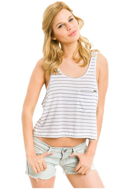 Musculosa Gris Try Me Crucero