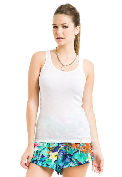 Musculosa Natural Try Me Morley