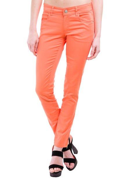 Pantalon Naranja Try Me Estefania Chupin