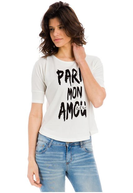 Remera Natural Try Me Mon Amour
