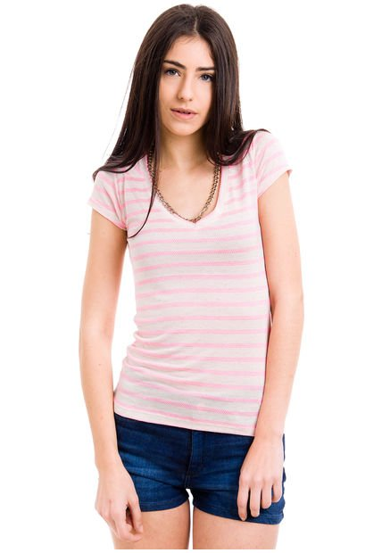 Remera Rosa fluo Try Me Shelter