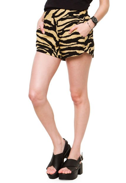 Short Beige Try Me Cebra