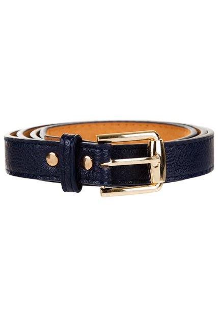 Cinturon Azul Vespertine Caux