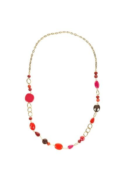 Collar Multicolor Vespertine Multi Piedras