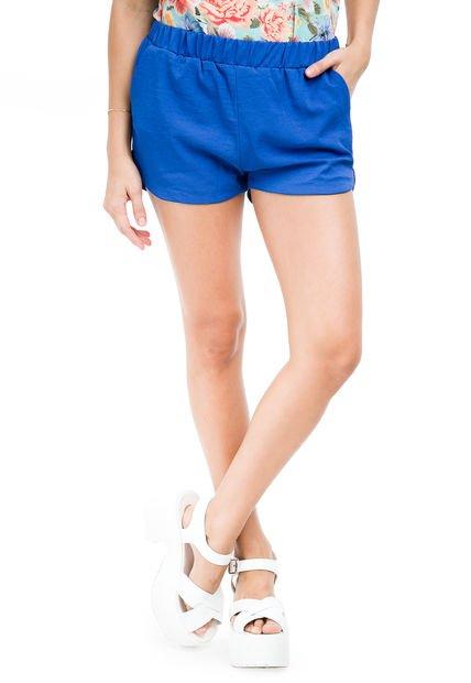 Short Azul Vespertine Anna