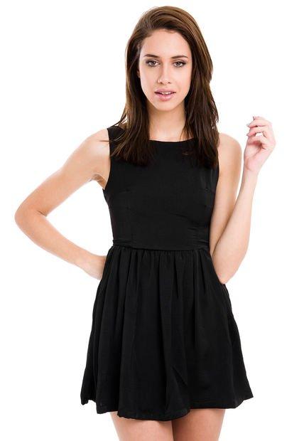 Vestido Negro Vespertine Beloved