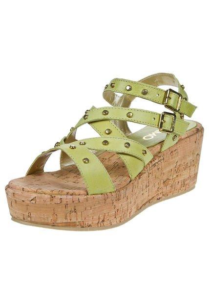 Sandalia Verde Viamo Maura