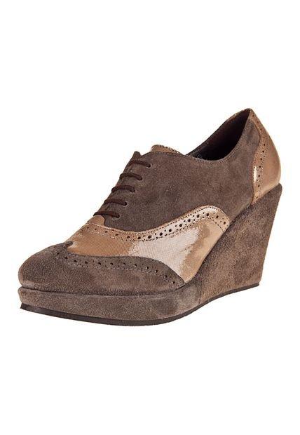 Zapato Vison Viamo con Plataforma Benita.