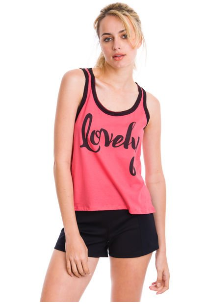 Musculosa Coral Vitamina Lovely