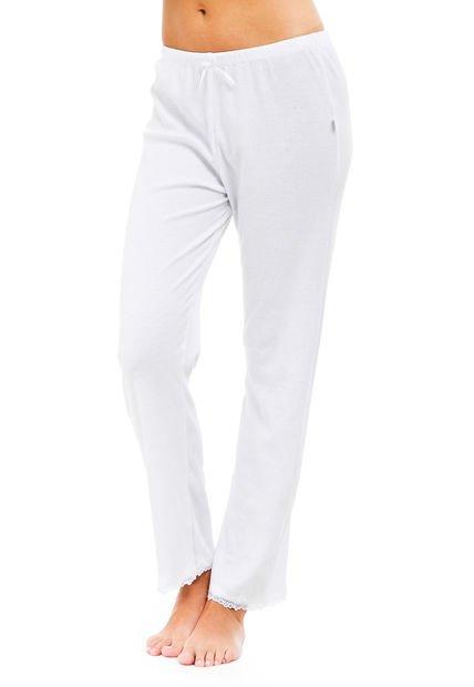 Pantalon Blanco Wassarette