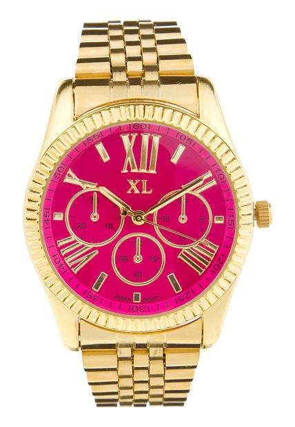 Reloj Dorado XL