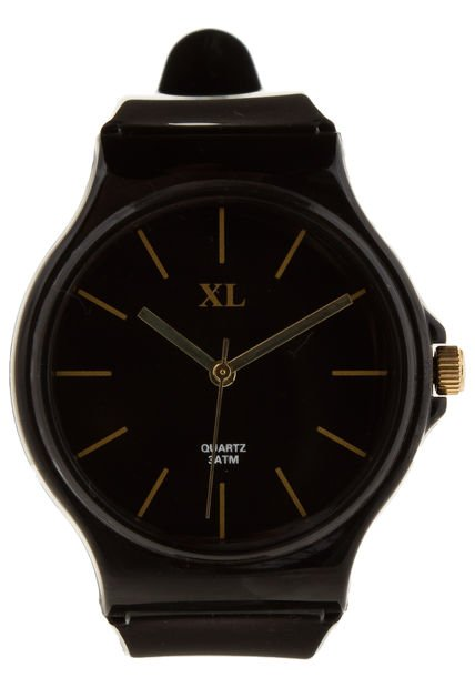 Reloj Negro XL