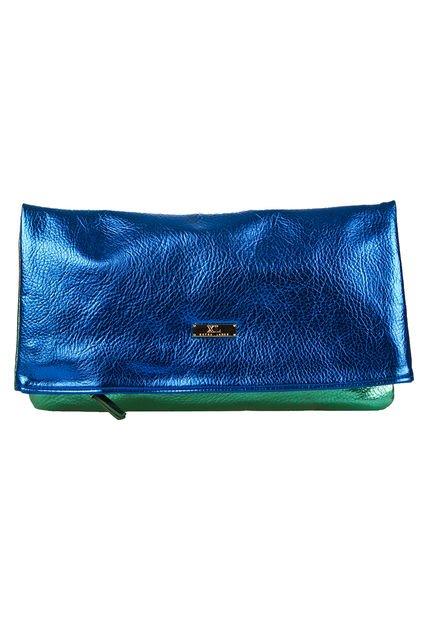 Sobre Azul Metalizado XL Baco
