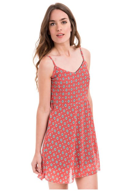 Vestido Coral Y-Lovers Margay
