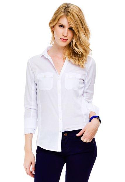 Camisa Blanca Yagmour Basica